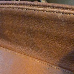 Coach Bags - Coach leather pebbled tote bag